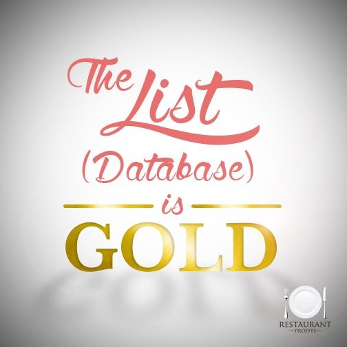 list-is-gold