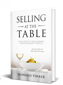 Restaurant Marketing Books - selling at the table